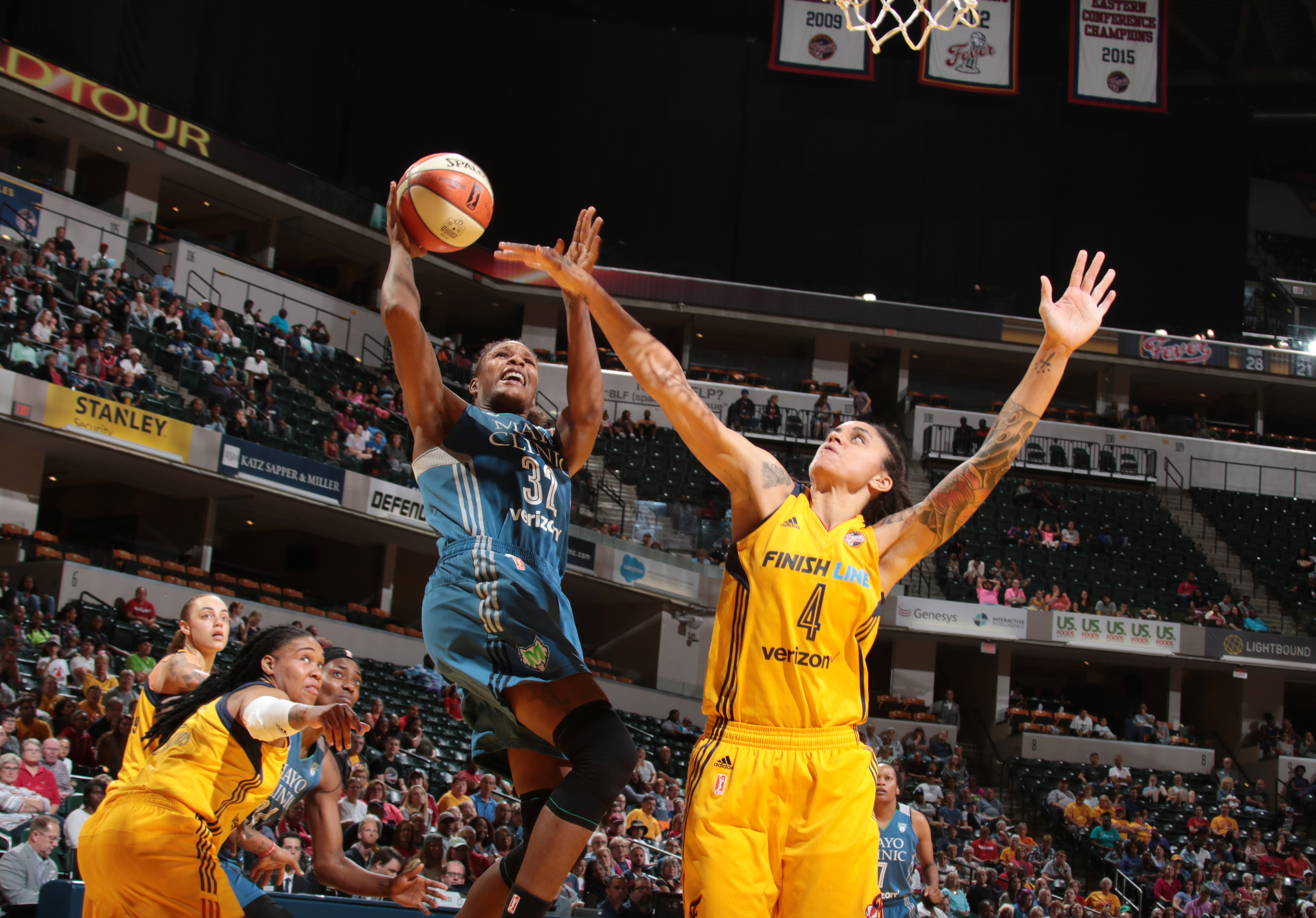 Minnesota Lynx Score WNBA Record 37 Straight Points vs. Indiana Fever