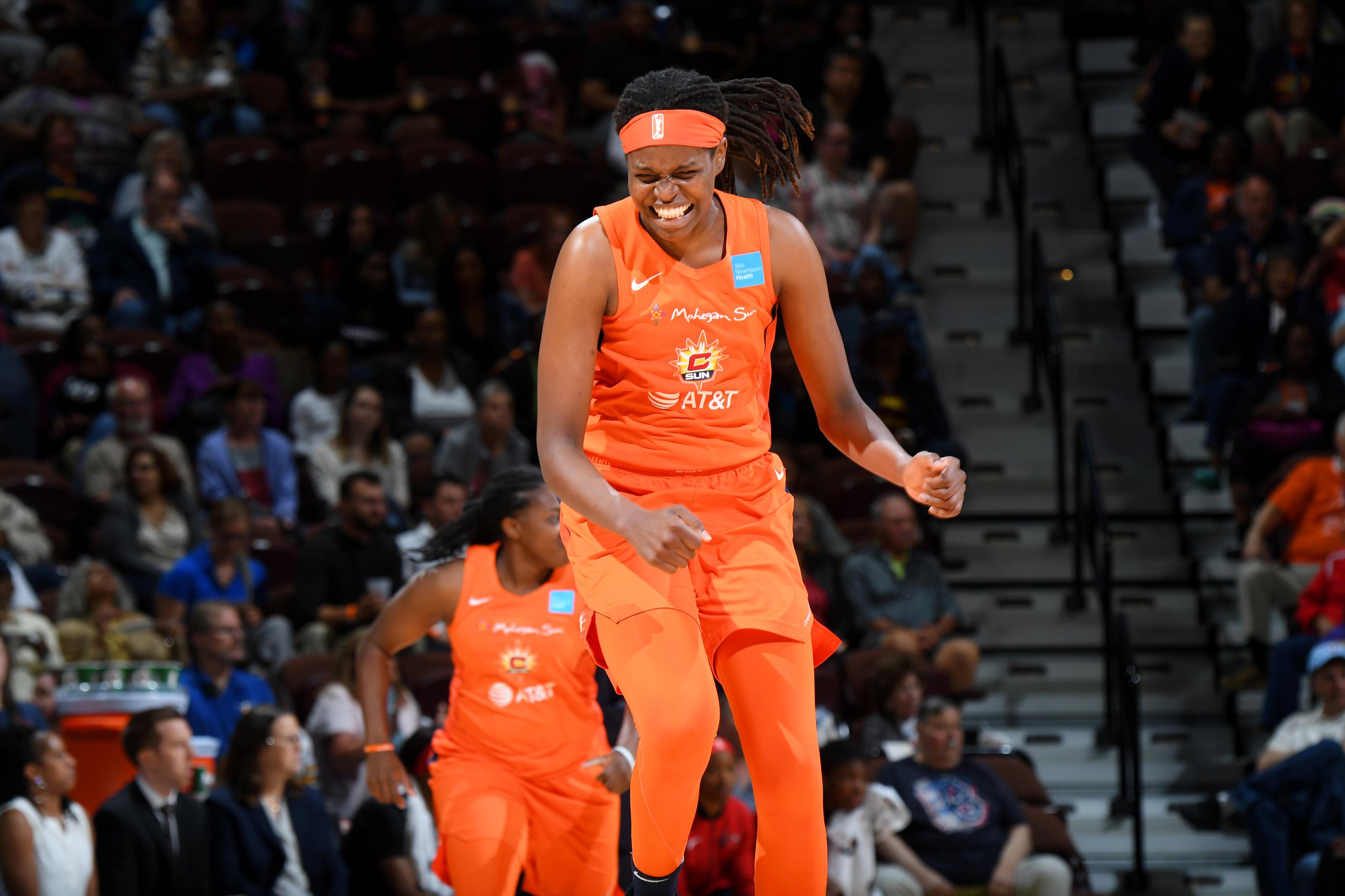WNBA news: Connecticut Sun re-sign Jonquel Jones to a two-year deal